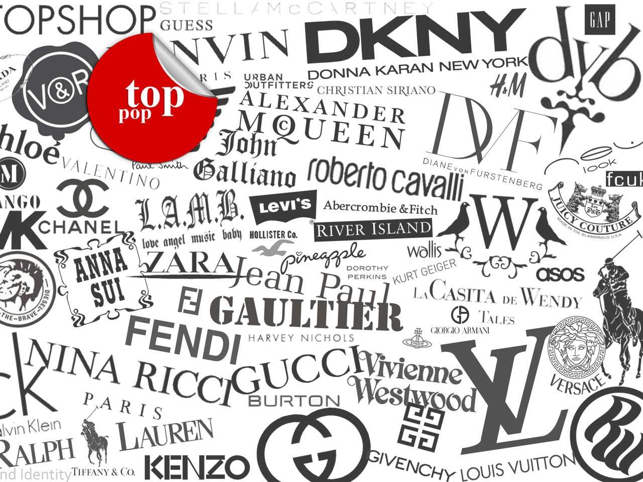 List of fashion brand names 61