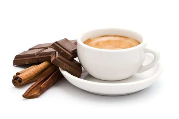 фото кофе шоколад корица