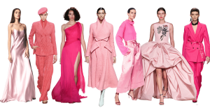 наряды в розовом цвете