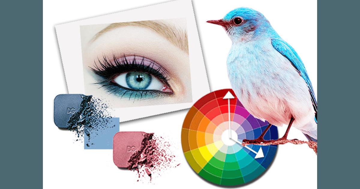 как выгодно подчеркнуть голубые глаза