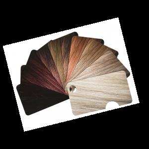 палитра цвета волос прическа