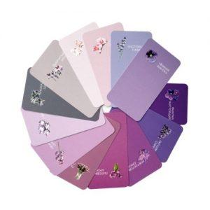палитра фиолетовых оттенков