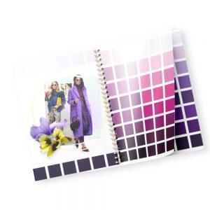 каталог фиолетовых оттенков